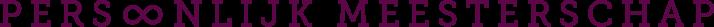 Persoonlijk Meesterschap Logo